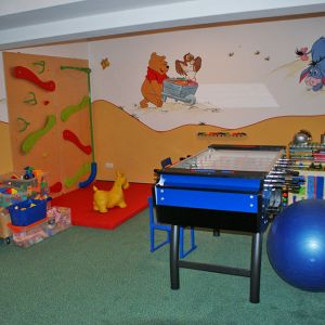 children´s play room at the Hotel Auerhahn